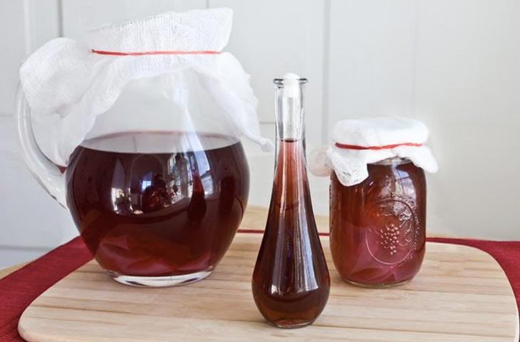 рецепт приготовления виноградного вина в домашних