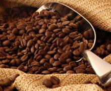 Кофе и порционный совочек