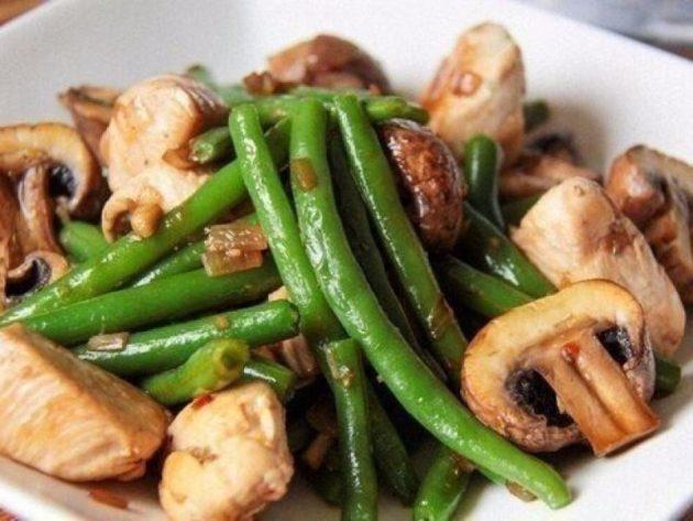 Рецепты диетических блюд с грибами шампиньонами