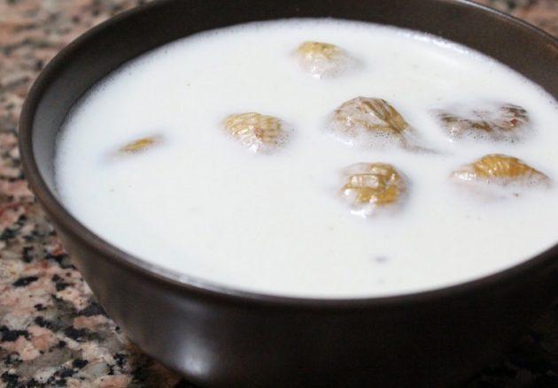Инжир в молоке