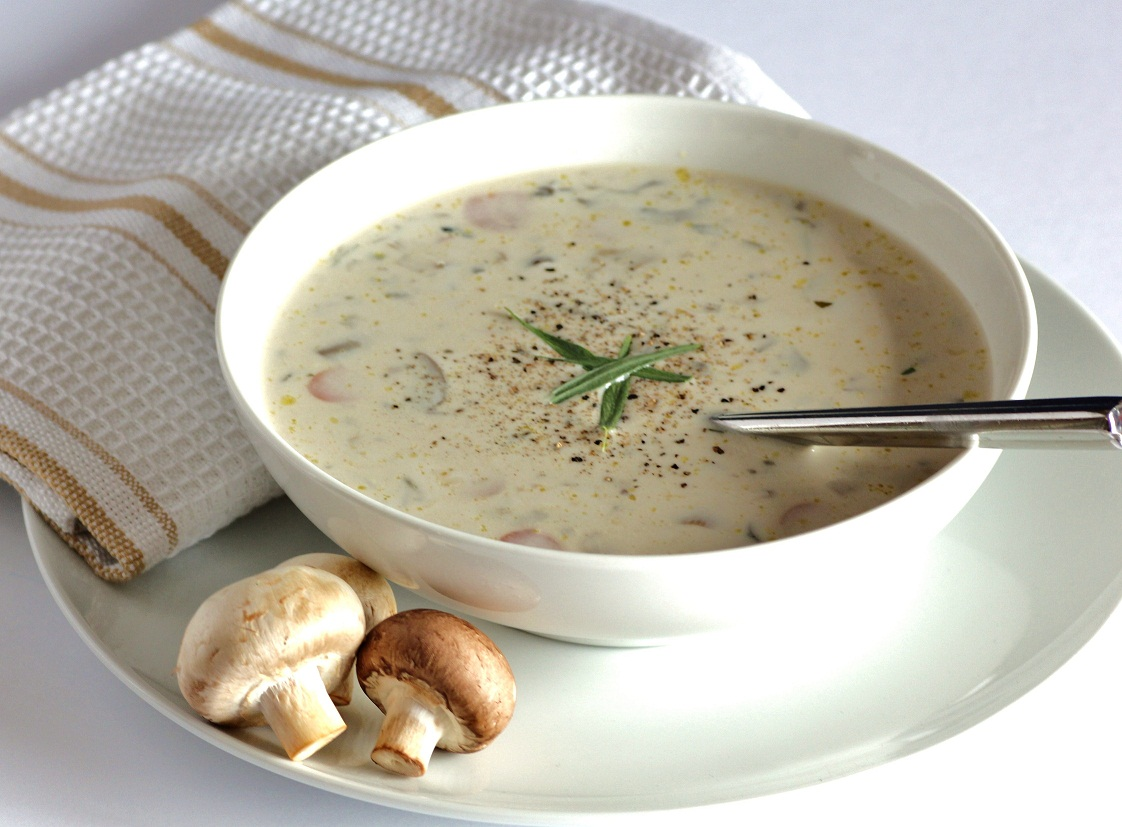 Суп пюре из шампиньонов диетический рецепт