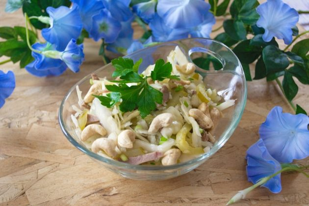 салат с орехами кешью