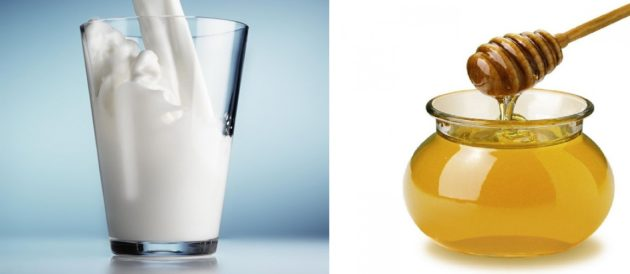 Кефир и мёд