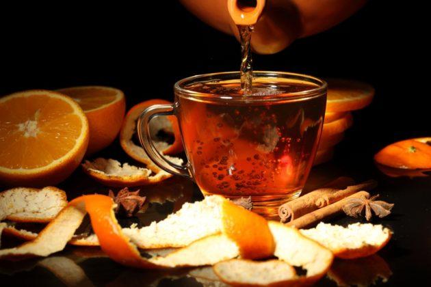 Чай с черёмухой