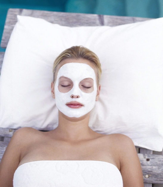 Лечебная маска на лицо