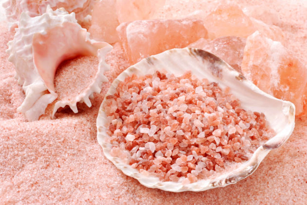 розовая гималайская соль