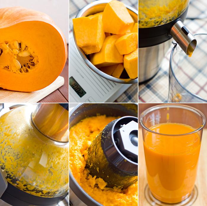 Как сделать сок с моркови тыквы