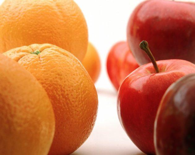Апельсины и яблоки