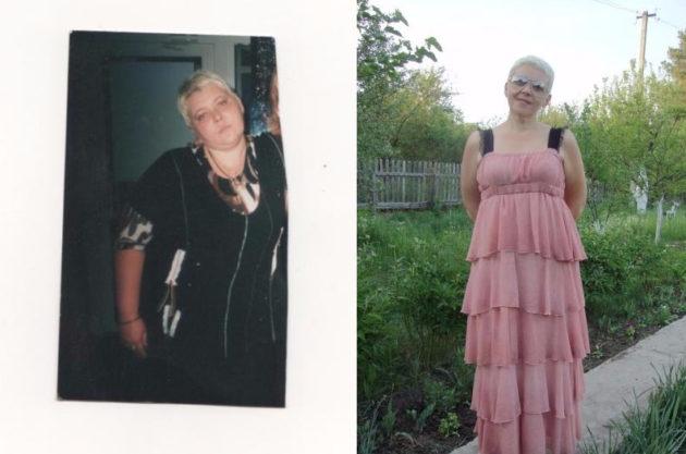 Женщина, которая похудела с помощью капустной диеты