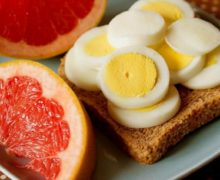 Диета грейпфрут и яйцо