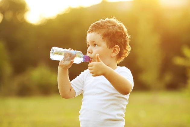 Вода с лимоном для малыша