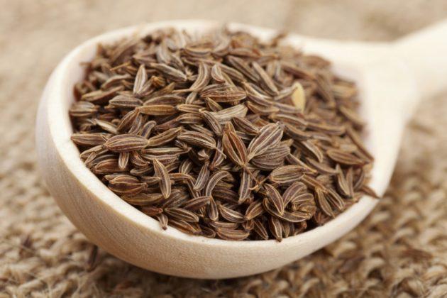 Семена обыкновенного тмина