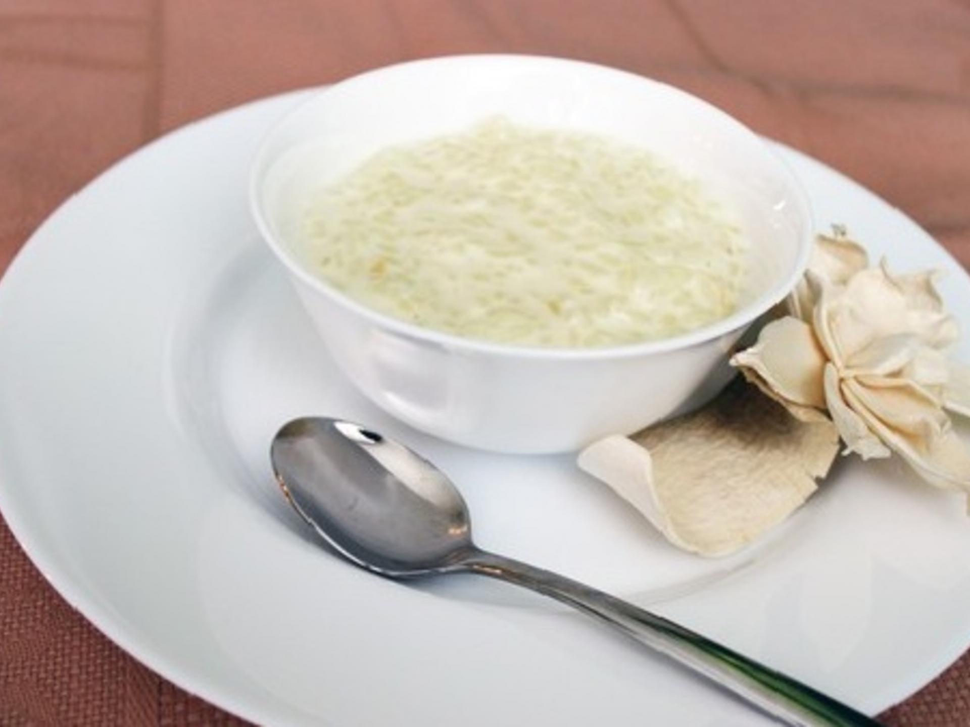 Рецепт приготовления рисовой каши на молоке пошагово
