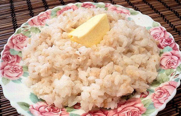 Рисовая каша с овсянкой
