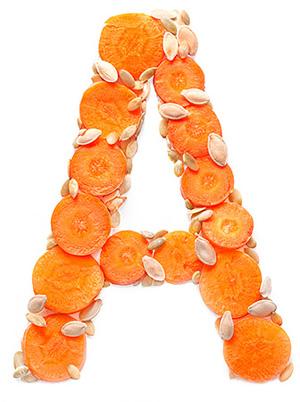 Символическое изображение витамина А