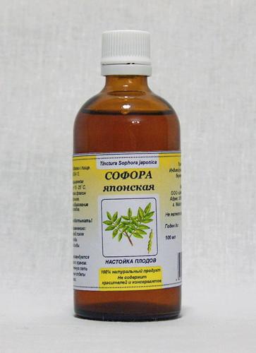 Аптечная настойка софоры